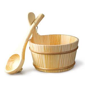 Xô muôi gỗ xông khô Sawo