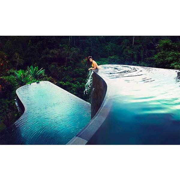 Mẫu thiết kế bể bơi vô cực