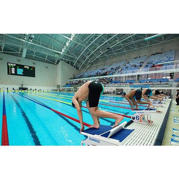 Mẫu thiết kế bể bơi thi đấu