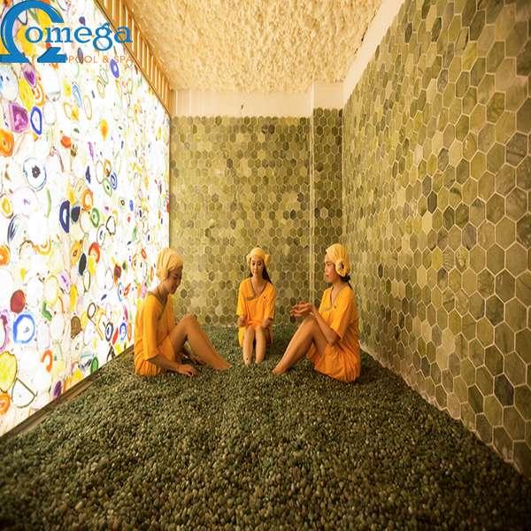 Phòng xông hoàng thổ hồng ngoại PXHT01