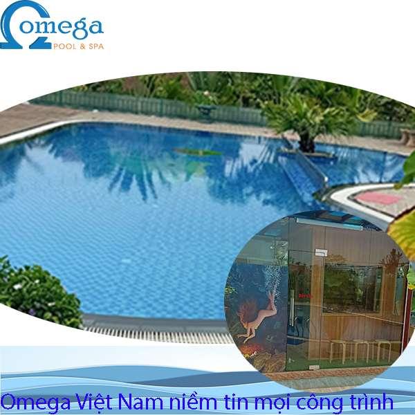 Mang bể bơi, phòng xông hơi vào không gian trong nhà để tận hưởng