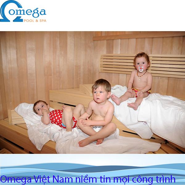 Trẻ em và người lớn tuổi có nên xử dụng phòng xông hơi trong mùa hè1